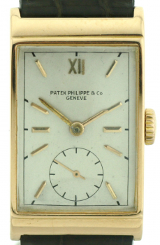 PATEK PHILIPPE  IN 750/18k GOLD WOHL REF. 1560