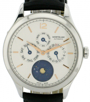 MONTBLANC HERITAGE AUTOMATIC CHRONOMETRIE QUANTIME ANNUEL REF.112536 LIMITED EDITION 316 STCK.